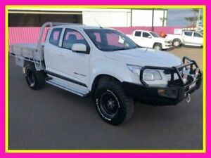 2015 Holden Colorado RG MY15 LS (4x4) White 6 Speed Manual Space Cab Chassis Dubbo Dubbo Area Preview