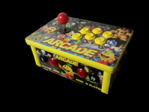 Arcade System 1 Player Console 25,000+ Games HDMI to Flatscreen