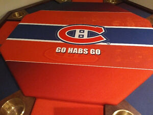 Table de Poker -  8 places - Canadiens de Montreal
