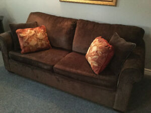 Double size Sofa bed - Brown