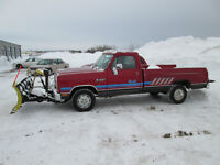 1989 Dodge Other Pickups d100 Pickup Truck YARD TRUCK
