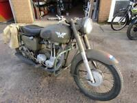MATCHLESS 350cc DUTCH ARMY BIKE MAKE A GOOD PROJECT