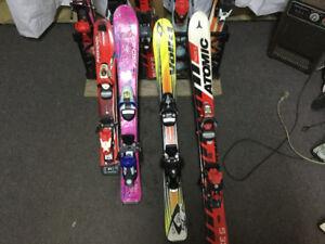 Ski Alpin pour enfants 70 cm-80 cm-90 cm / 70$ chaque paires