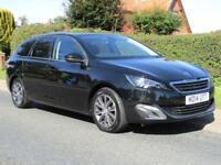 2014 Peugeot 308 1.6 BLUEHDi 120 BHP ALLURE 5DR TURBO DIESEL ESTATE * FULL HI...