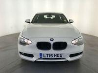 2015 BMW 116D EFFICIENT DYNAMICS DIESEL 1 OWNER BMW SERVICE HISTORY FINANCE PX
