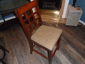 1wooden counter or bar stool London Ontario image 2