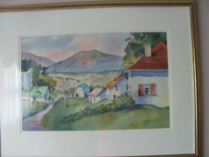 Original watercolour by Eve Rell