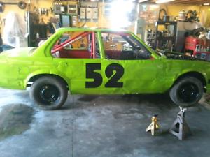 1984 BMW 318 dirt track car