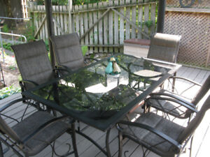 Martha Stewart 7 pce  patio set
