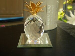 "Swarovski Crystal Figurine - "" Pineapple "" 7507NR Kitchener / Waterloo Kitchener Area image 2"