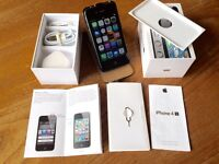 iPhone 4s 32gb black. Unlocked and open to all networks. Perfect working order.