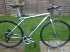"""LARGE 21.5"""" GT NOMAD SPORT HYBRID COMMUTER BIKE. WITH NEW SCHWALBE TYRES,DEORE, ALEXRIMS, DISC BRAKE"""
