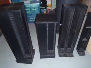 4 cd/video game shelves for sale or trade