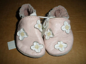 Three Pairs Robeez  Size Infant London Ontario image 3