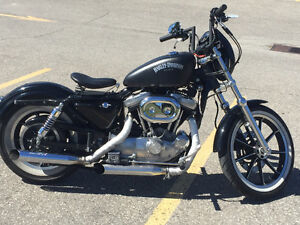 Bobbed sporty.    Trade for older bagger straight trade London Ontario image 2