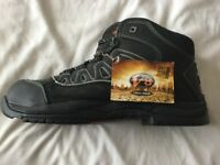 Aztec V8 Powerlite Urban Hiker Safety Boots. UK Size 10.