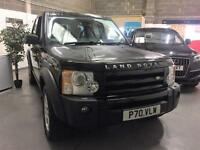 2005 05 LandRover Discovery SE Black 6 Speed