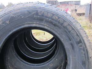 4 snow tires from Honda Element 225 70R16 and 215 70R16 Kingston Kingston Area image 5