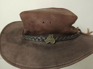 JACKAROO LEATHER HAT