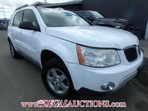 2008 PONTIAC TORRENT BASE 4D UTILITY