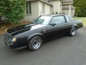 1987 BUICK GRAND NATIONAL LOW KMS