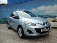2012 MAZDA 2 TS £20 A YEAR TAX LOW MILEAGE HATCHBACK PETROL
