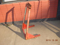 Snowmobile Sled Stand