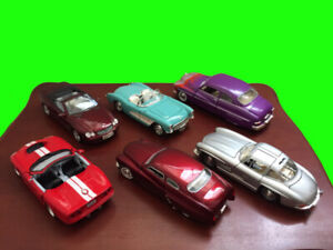 14 Model Display Vintage/Classic Cars (names and pics in ad)