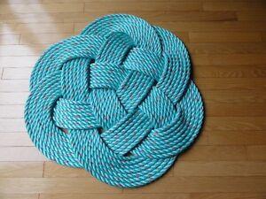 Handmade Celtic Rope Mat