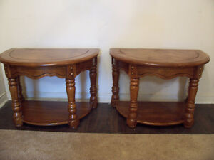 Rustic Set of End/Side Tables for sale