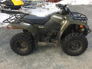 2015 SUZUKI 400 KING QUAD (PLOW AVAILABLE)...FINANCING AVAILABLE