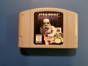 Star Wars Shadows of the Empire N64
