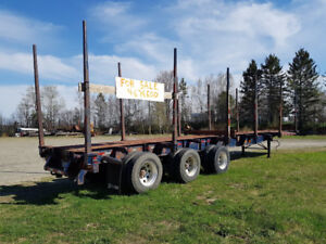 Trail Ex Log and Pulp Trailer