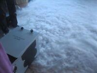 Low Fog ice smoke machine, DJ disco party club bar venue wedding