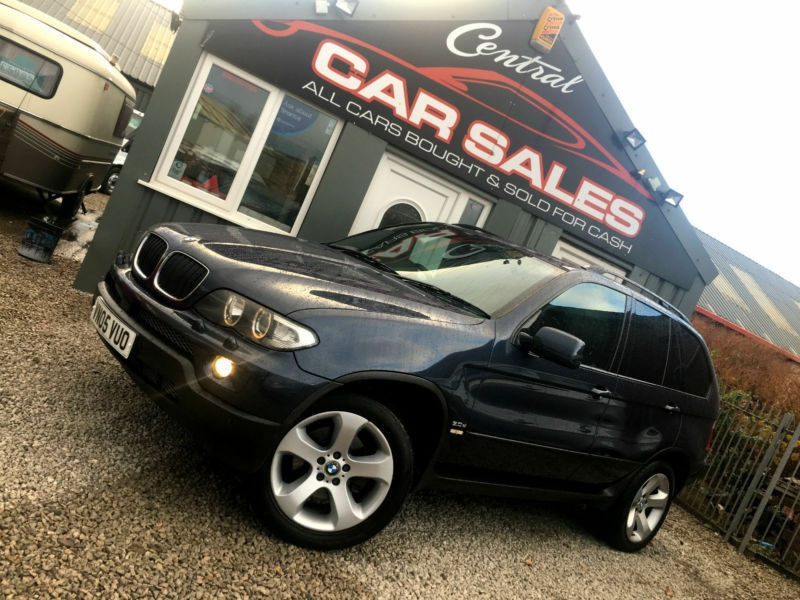 BMW X5 3.0D AUTOMATIC SPORT 4WD TURBODIESEL FINANCE PARTX WELCOME