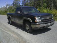2003 Chevrolet Silverado 1500 LS !! 4X4 !! 5.3L V8 !! LONG BOX !