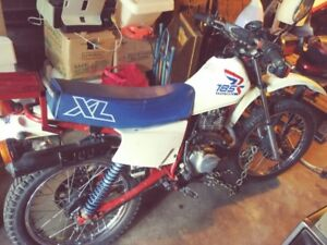 Trd '87 Honda XL 185 dual sport, For best quad or
