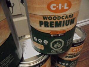 5x Cans Outdoor Wood Stain *NEW*