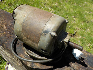 "1/2 hp Delco electric motor. 5/8"" keyed shaft. Works well."