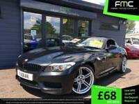 2011 61 BMW Z4 2.5 Highline Convertibe Black **Sat Nav Heated Black Leather FSH*