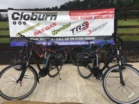 Ex-Demo 2017 Bergamont E-Horizon N8 E-Bike Hybrid Bike