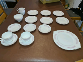 Royal Stafford Lyric bone China part tea set