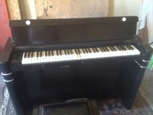 ART DECO Piano case (guts removed) for decor/project