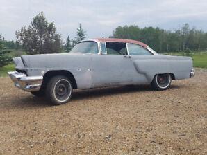 1956 Mercury Custom 2 dr. hardtop project car for sale.