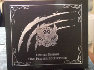 """Limited Edition""""The Intimidator No.3 """" Pewter Beer Holders"""