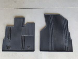 GM OEM set of rubber front floor mats, used two winters.