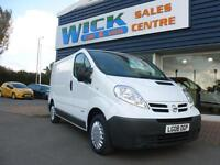 2008 Nissan PRIMASTAR SE SWB DCI 115ps Van *TRAFIC / VIVARO* Manual Medium Van