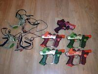 Laser tag kit, great kit 5 player