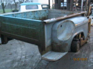 Wanted stepside pickup bed
