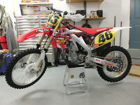 2012 HONDA CRF 450R EXCELLENT CONDITION LOW HOURS